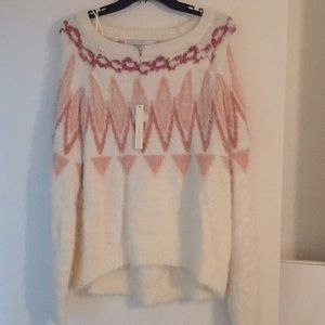 Lauren Conrad Patterned Sweater size XL